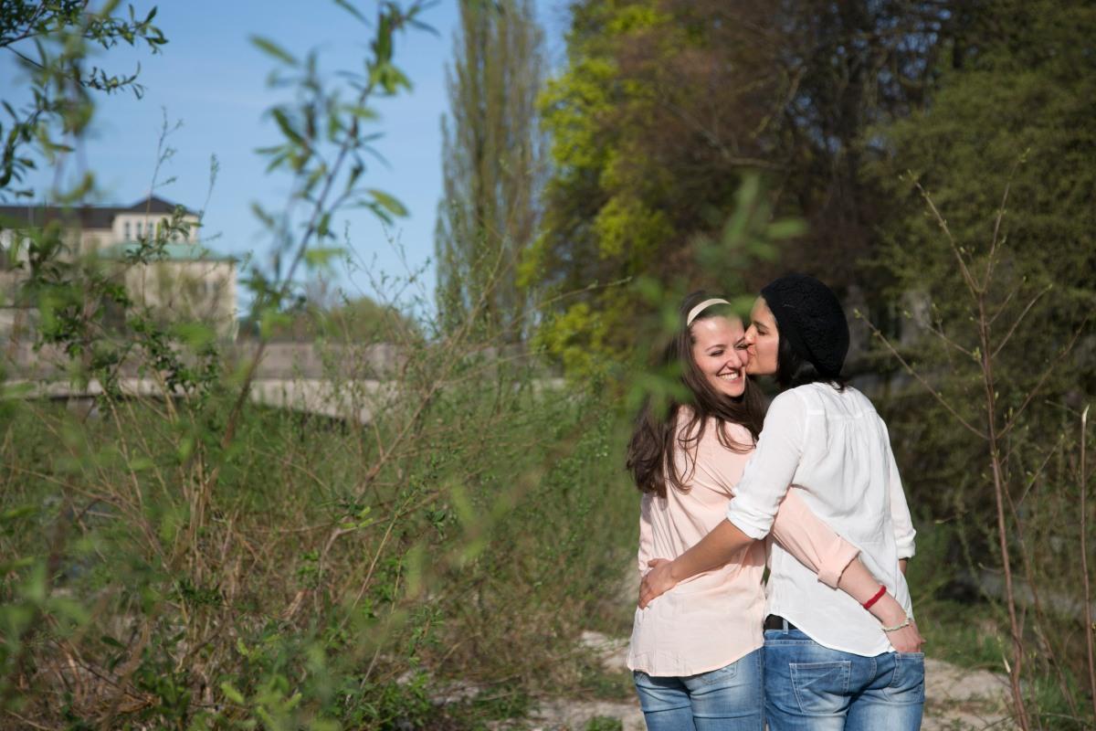 Paarshooting Frauenpaar München: Clara & Fitore