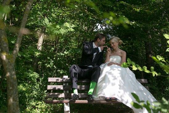Kreative Hochzeitsfotos in Augsburg